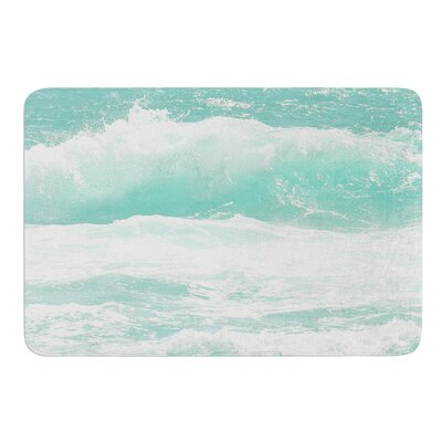 Maui Waves by Monika Strigel Bath Mat