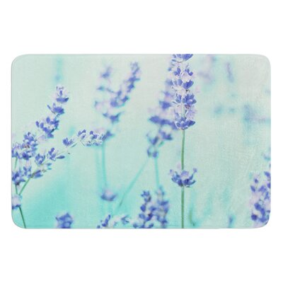Mint Lavendar by Monika Strigel Bath Mat