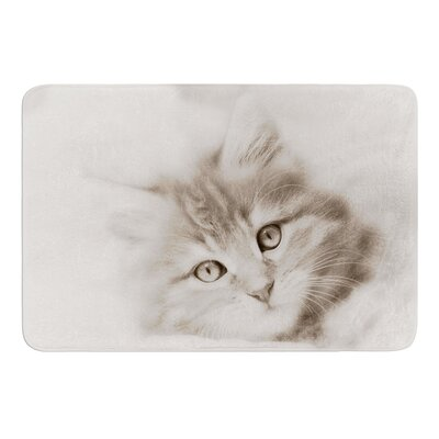 Main Coon Kitten by Monika Strigel Bath Mat