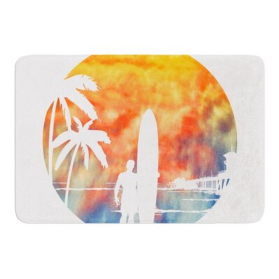 Waiting by Micah Sager Bath Mat