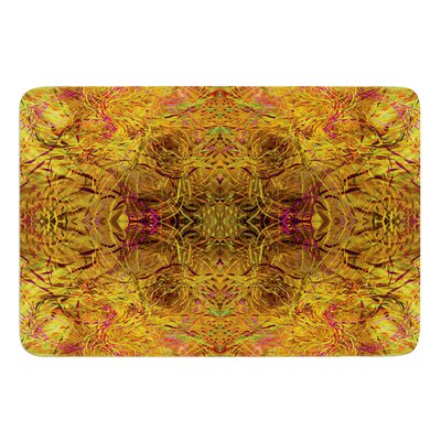 Goldenrod by Nikposium Bath Mat