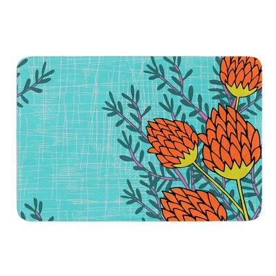 Flowers by Nandita Singh Bath Mat