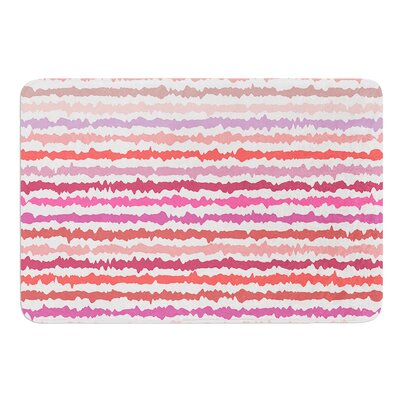 Blush Stripes by Nandita Singh Bath Mat