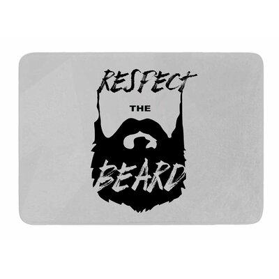Respect the Beard by Juan Paulo Bath Mat