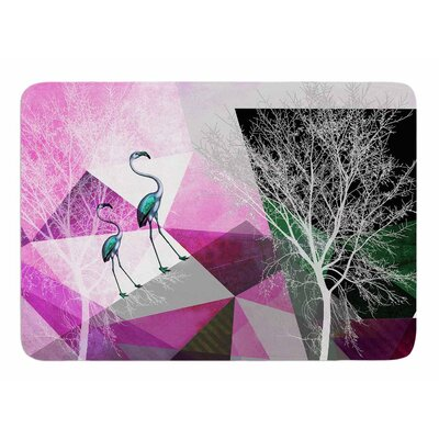 Flamingo P22 by Pia Schneider Bath Mat