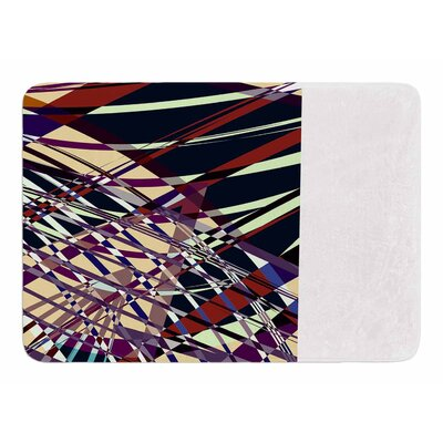 Sweeping Line Pattern I-E by Pia Schneider Bath Mat
