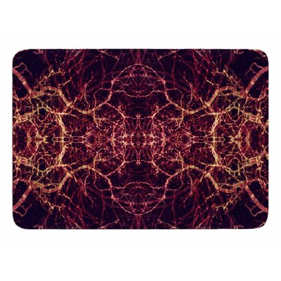 Burning Roots I+VIII by Pia Schneider Bath Mat
