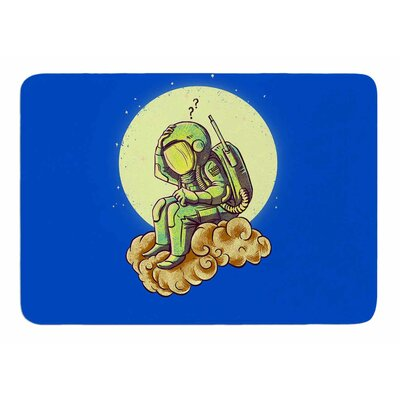 Why in the Cloud by BarmalisiRTB Bath Mat