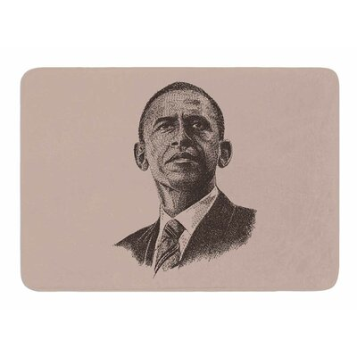 Barack Obama by BarmalisiRTB Bath Mat