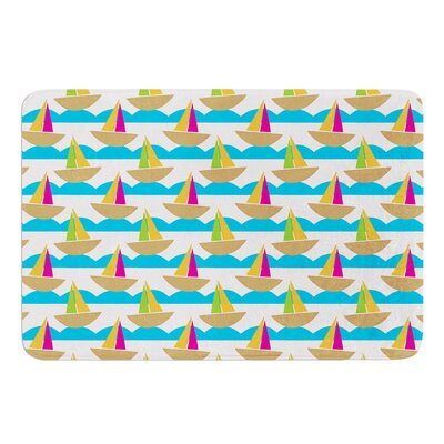 Beside the Seaside by Apple Kaur Designs Bath Mat