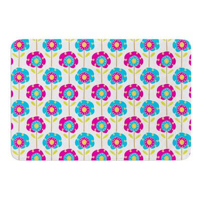Lolly Flowers by Apple Kaur Designs Bath Mat