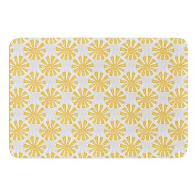 Sunburst by Apple Kaur Designs Bath Mat