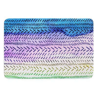 Aqua by Sreetama Ray Bath Mat