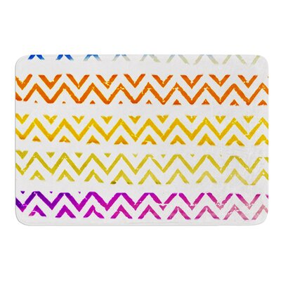 Chevron Add by Sreetama Ray Bath Mat