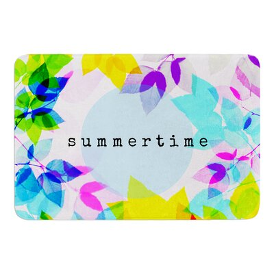 Seasons Summer by Sreetama Ray Bath Mat