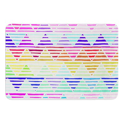 Stripes Cushion by Sreetama Ray Bath Mat