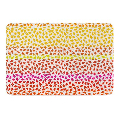Sunset Arrows by Sreetama Ray Bath Mat