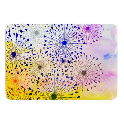 Bursting Blossoms by Sreetama Ray Bath Mat