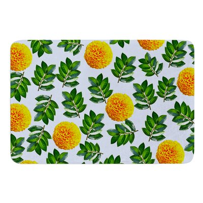 More Marigold by Sreetama Ray Bath Mat