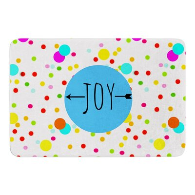 Oh Joy by Sreetama Ray Bath Mat