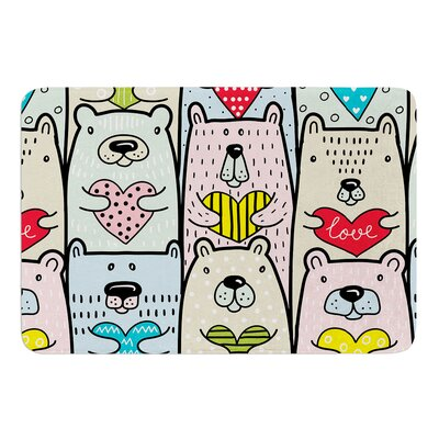 Bear Hugs by Snap Studio Bath Mat