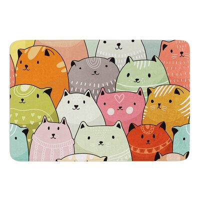 Kitty Attack by Snap Studio Bath Mat