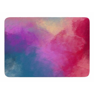 Abstract 01 by Viviana Gonzalez Bath Mat