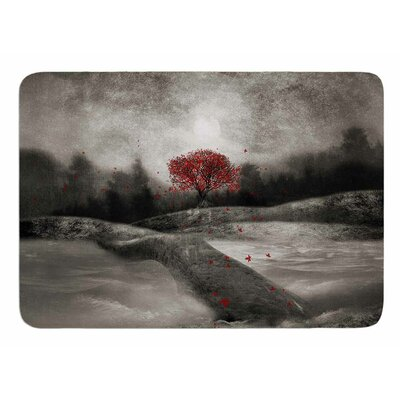 The Red Sounds And Poems 1 by Viviana Gonzalez Bath Mat