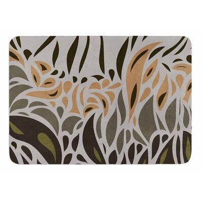 Africa - Abstract II by Viviana Gonzalez Bath Mat