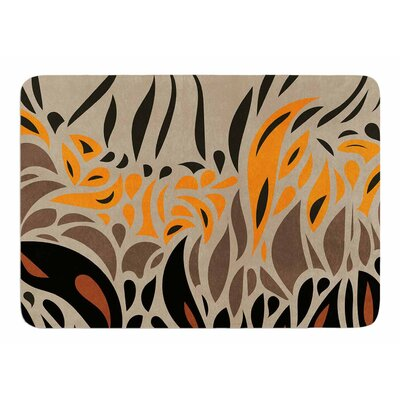 Africa - Abstract I by Viviana Gonzalez Bath Mat