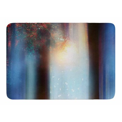 Hope In Blue Part II by Viviana Gonzalez Bath Mat