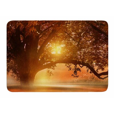 Romance In Autumn by Viviana Gonzalez Bath Mat