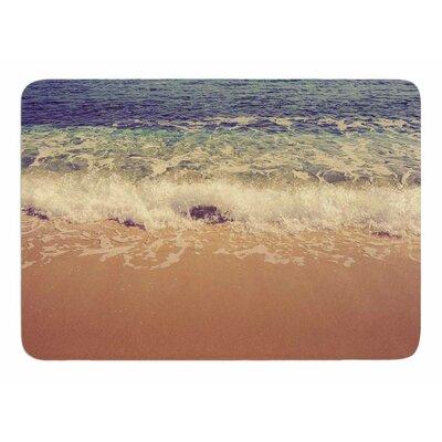 Crashing Waves by Violet Hudson Bath Mat