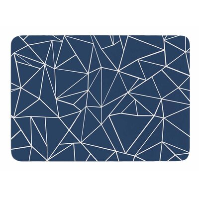 Abstraction Outline by Project M Bath Mat