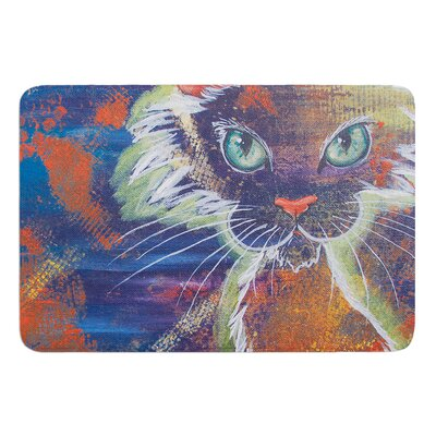 Rave Kitty by Padgett Mason Bath Mat