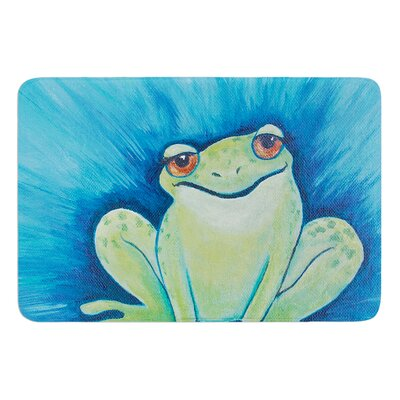 Ribbit Ribbit by Padgett Mason Bath Mat