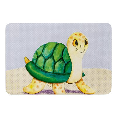 Slow and Steady by Padgett Mason Bath Mat