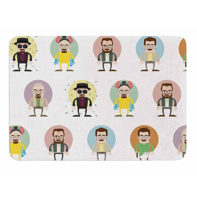 The Stages of Walter by Juan Paolo Bath Mat