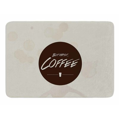 But First, Coffee by Juan Paolo Bath Mat