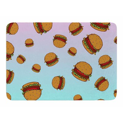 Cheeseburger Paradise by Juan Paolo Bath Mat