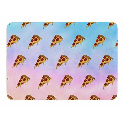 Lucid Pizza by Juan Paolo Bath Mat