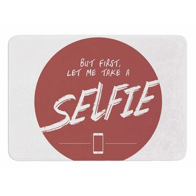 Let Me Take A Selfie by Juan Paolo Bath Mat