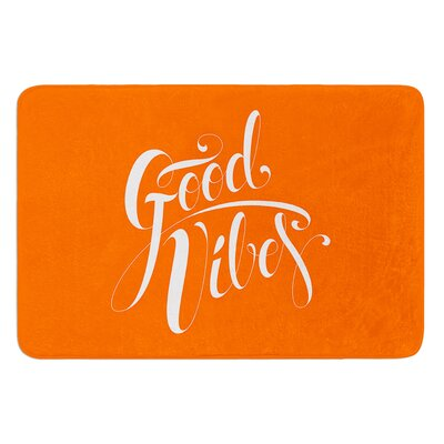 Good Vibes by Roberlan Bath Mat