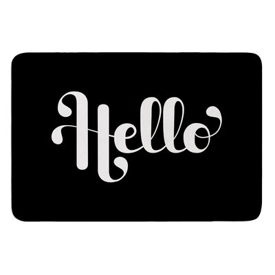 Hello by Roberlan Bath Mat