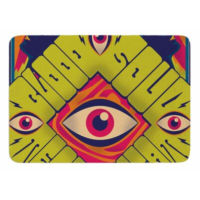 Blood Sweat Tears And Soul by Roberlan Bath Mat