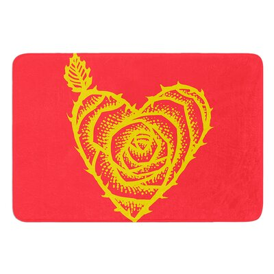 I Love Roses by BarmalisiRTB Bath Mat