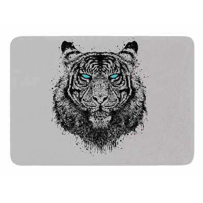 Tiger Gaze by BarmalisiRTB Bath Mat