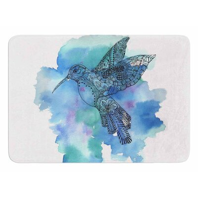 Hummingbird by Sonal Nathwani Bath Mat