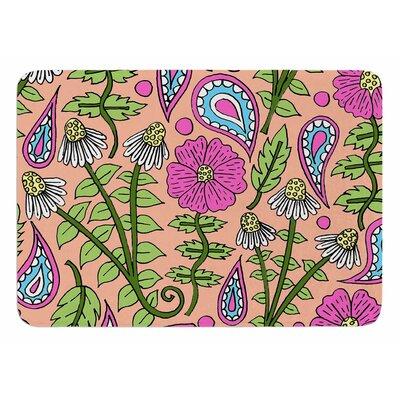 Floral Paisley by Sarah Oelerich Bath Mat
