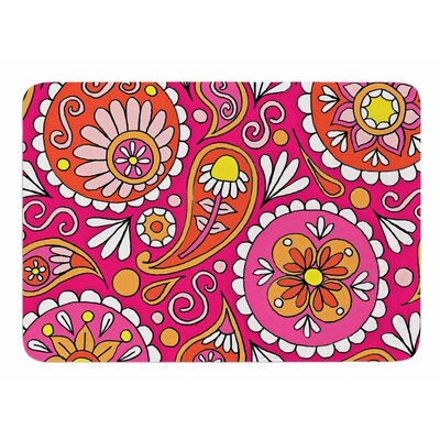 Paisley Pop by Sarah Oelerich Bath Mat